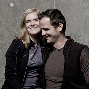 Meike Näkel und Markus Klumpp