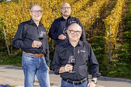 Fritz Benz, Werner Seibold, Albrecht Schurr