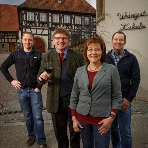 Margret, Werner & Daniel Kuhnle