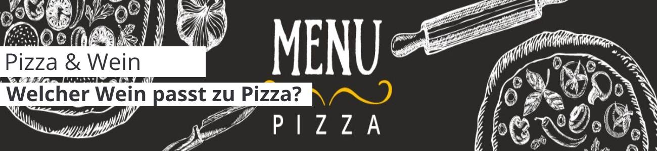 Wein zu Pizza