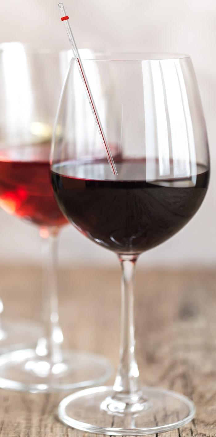 Die perfekte Wein Temperatur?